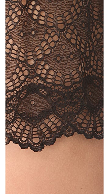 Only Hearts Hipster with Lace Insets