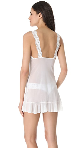 Only Hearts Mesh & Lace Chemise