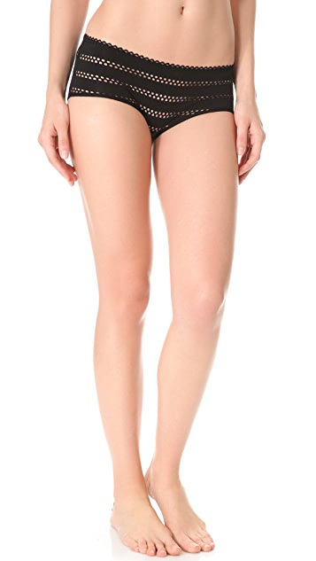Only Hearts Eyelet Jersey Briefs