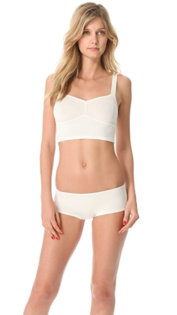 Only Hearts So Fine Pinched Front Longline Bralette