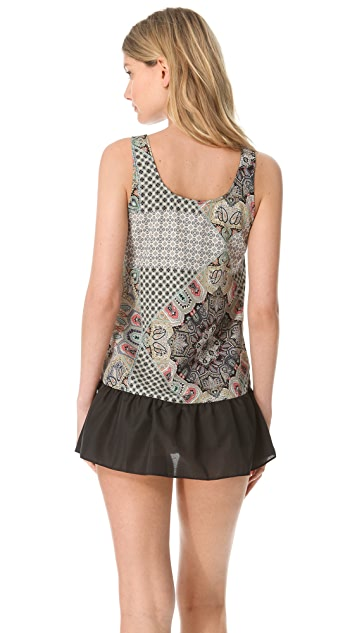 Only Hearts She Might be in Tangler Ruffle Chemise