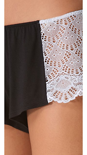 Only Hearts Venice Hipster Lace Boy Shorts
