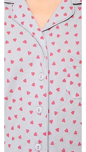 Only Hearts Heritage Heart Pajama Set