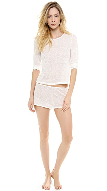 Only Hearts Lace Sleep Shorts