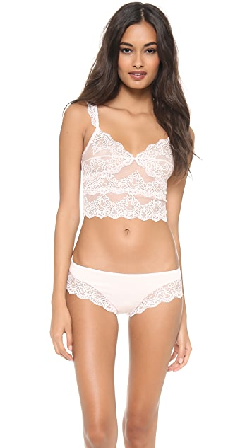 Only Hearts So Fine Lace Cropped Cami