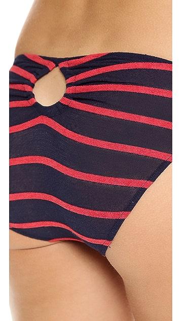 Only Hearts Seersucker Crepe Bikini Briefs