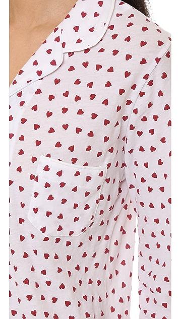 Only Hearts Heritage Heart Shortie PJ Set