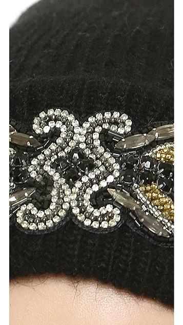 1717 Olive Deepa Gurnani X 1717 Olive Glamourai Hat