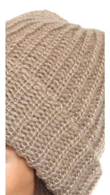1717 Olive Lofty Rib Knit Cuffed Beanie