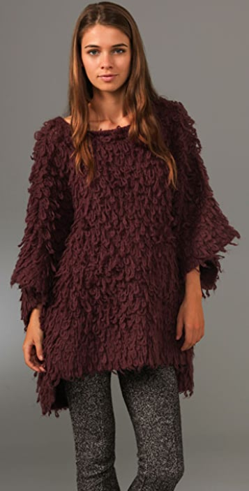 Opening Ceremony Loopy Knit Pullover Sweater