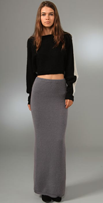 Opening Ceremony Long Skirt with Slit