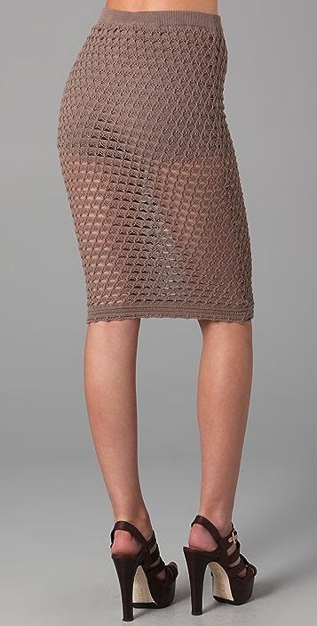 Opening Ceremony Crocheted Skirt