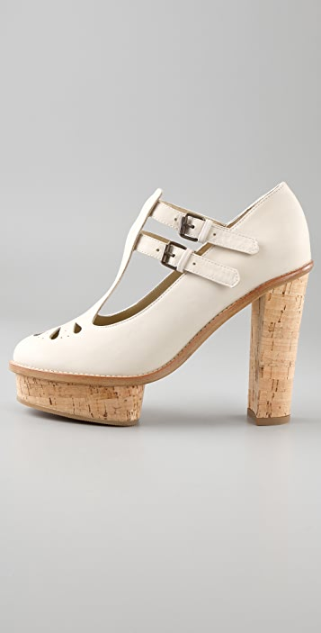 Opening Ceremony Chantal T Strap Platform Pumps