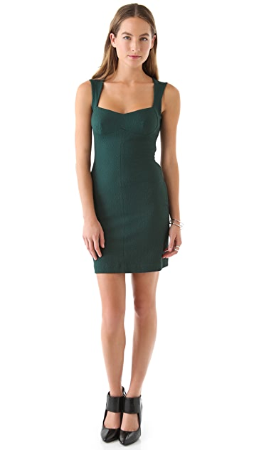 Opening Ceremony Jersey Sweetheart Dress