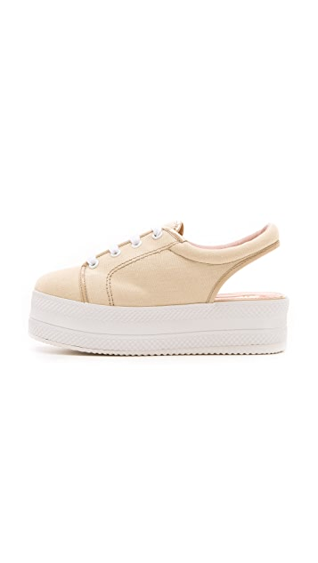 Opening Ceremony Slingback Platform Sneakers