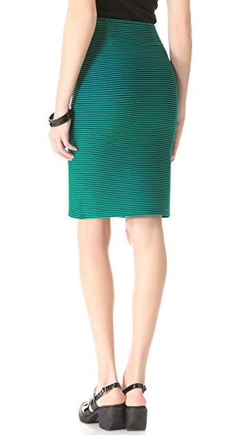 Opening Ceremony Larson Stripe Skirt