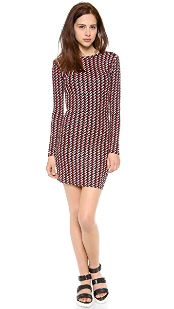 Opening Ceremony Calyx Long Sleeve Dress