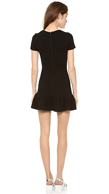 Opening Ceremony Posey Drop Waist Ruffle Dress