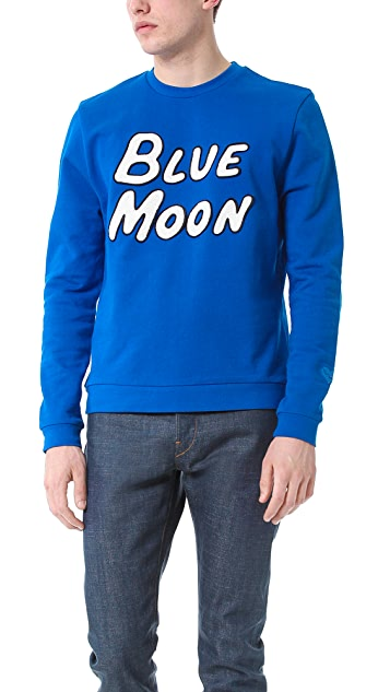 Opening Ceremony Blue Moon Sweatshirt