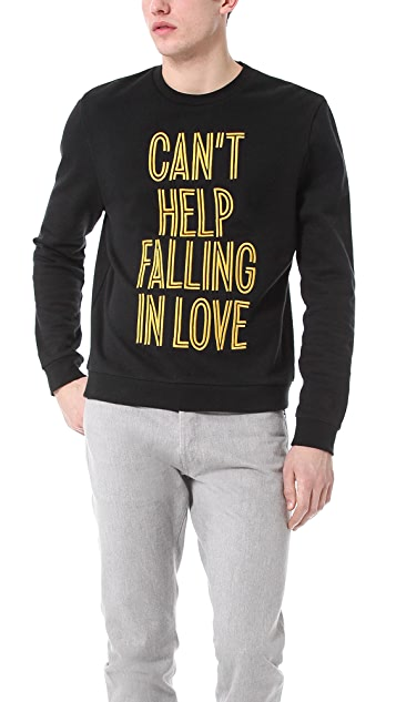 Opening Ceremony Can't Help Falling In Love Sweatshirt