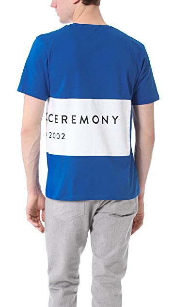 Opening Ceremony Label Logo Pocket T-Shirt