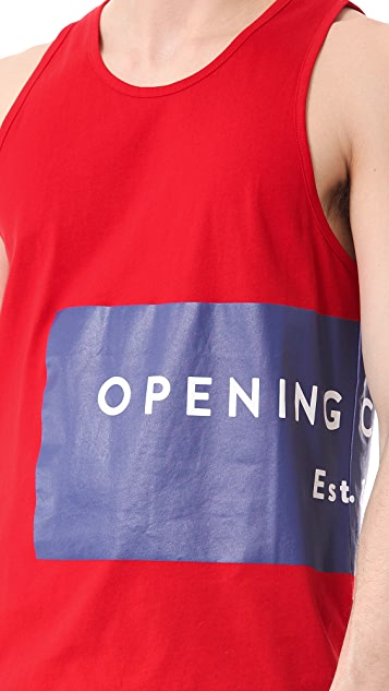 Opening Ceremony Label Logo Tank