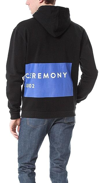 Opening Ceremony Label Logo Hoodie