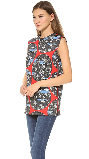 Opening Ceremony Moon Print Tunic Tank