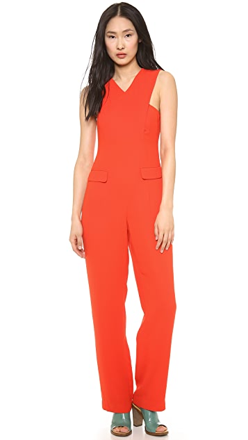 Opening Ceremony Cross Front Jumpsuit