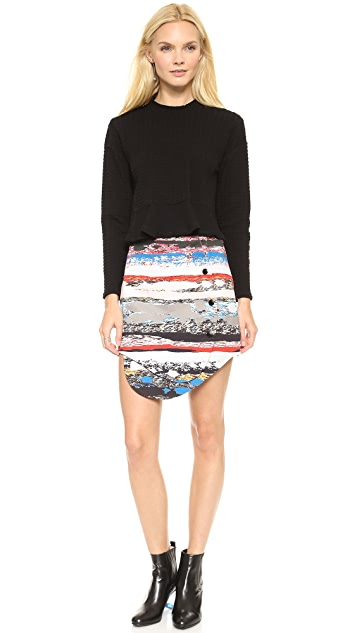 Opening Ceremony Terazzo Front Snap Skirt