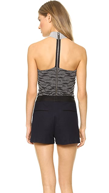 Opening Ceremony Terrain Stitch Halter Top