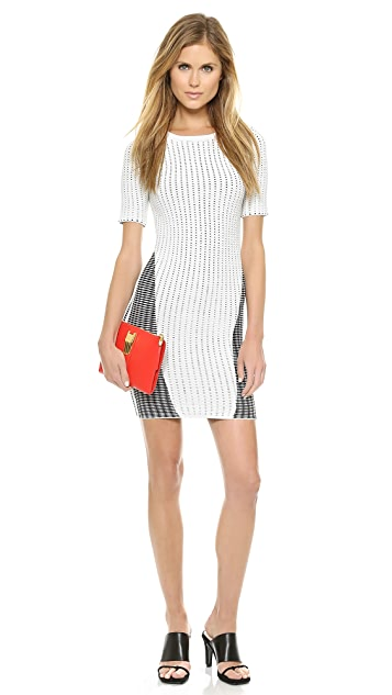 Opening Ceremony Facade Stitch Dress