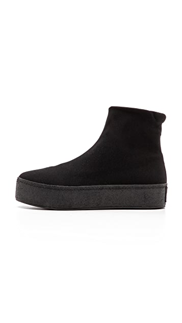 Opening Ceremony High Top Slip On Sneakers