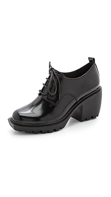 Opening Ceremony Grunge Lace Up Oxfords