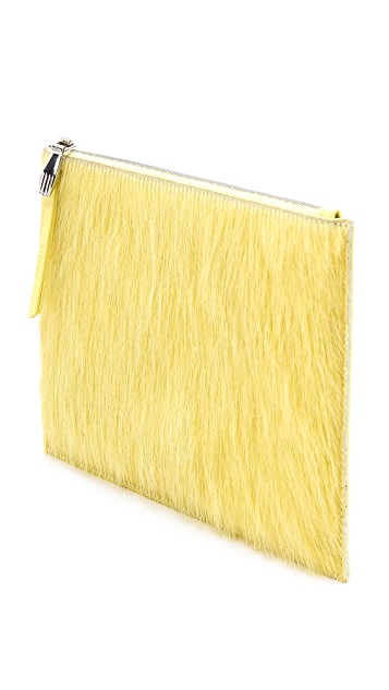 Opening Ceremony Haircalf Lyo Zip Clutch