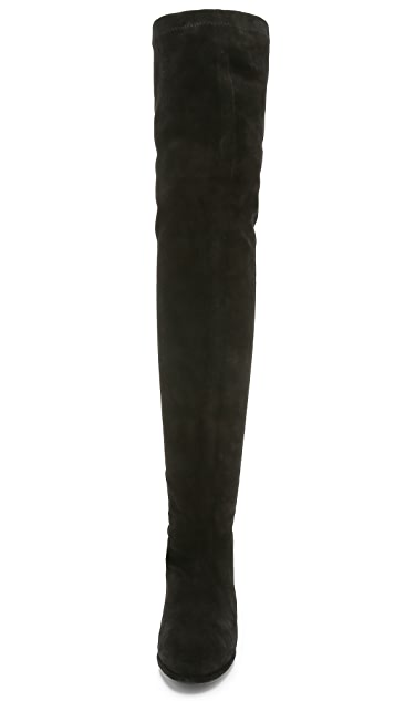 Opening Ceremony Marquee Suede Boots