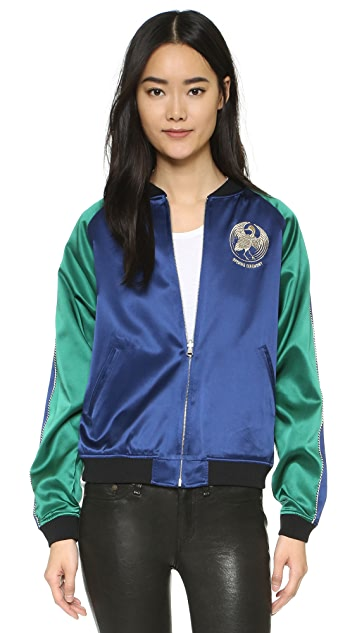 Opening Ceremony Bonsai Reversible Varsity Bomber