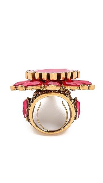 Oscar de la Renta Bold Pear Shaped Ring