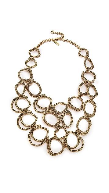 Oscar de la Renta Circle Necklace
