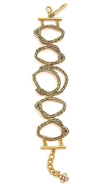 Oscar de la Renta Circle Bracelet
