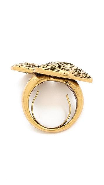 Oscar de la Renta Swirl Ring