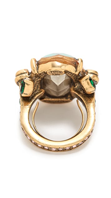 Oscar de la Renta Jeweled Ring