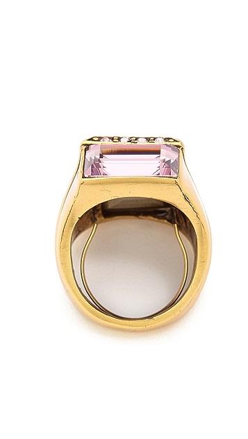 Oscar de la Renta Lilac Ring