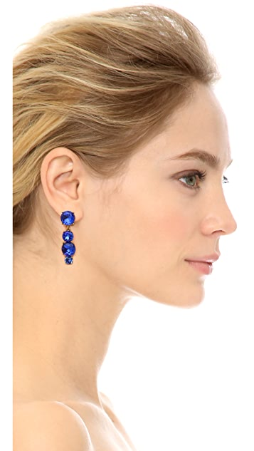 Oscar de la Renta Jewel Drop Earrings