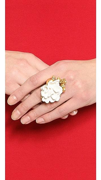Oscar de la Renta Coral Ring