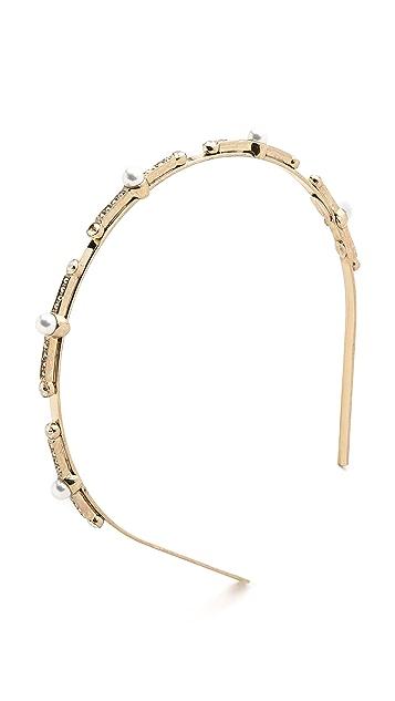 Oscar de la Renta Imitation Pearl Headband