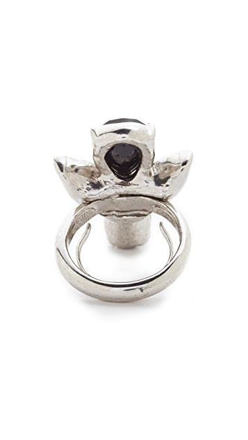 Oscar de la Renta Bold Teardrop Ring