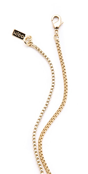 Orly Genger by Jaclyn Mayer Clover Knot Necklace