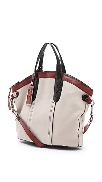orYANY Cassie Convertible Colorblock Tote