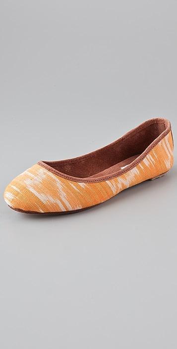 Osborn Print Ballet Flats